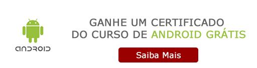 Certificado Curso de Android Grátis